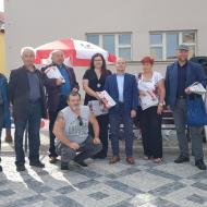 Setkání kandidátů do Krajského zastupitelstva v Brandýse.