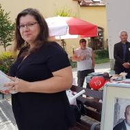 Setkání si užívala i Ladislava Šimková, trojka na krajské kandidátce