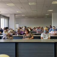 Mezi přítomnými byli i další náši kandidáti Zdeněk Levý a městský zastupitel Rudla Carvan