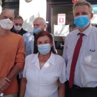 Setkání s občany na Obecním úřadě v Libčicích